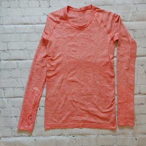 Lululemon Swifts Tech Long Sleeve SZ 4